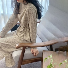 Korean Ins Early Spring New Products Gentle Sweet Western Style Youthful-Looking Lace-up Waist Slimm