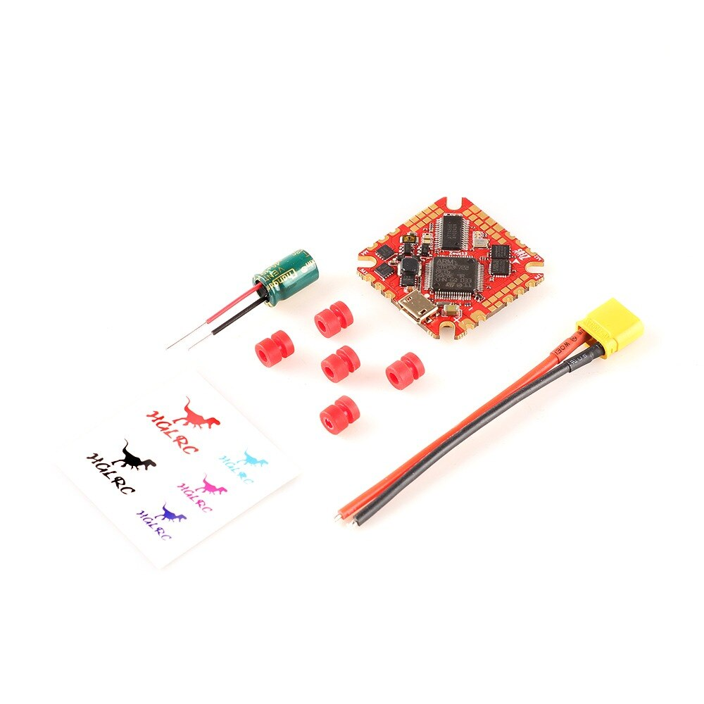 HGLRC Zeus13 AIO 3-6S F722 F7 OSD Flight Controller w/ 5V 10V BEC BLHELI32 13A 4in1 25.5mm ESC for FPV Toothpick Cinewhoop Drone enlarge