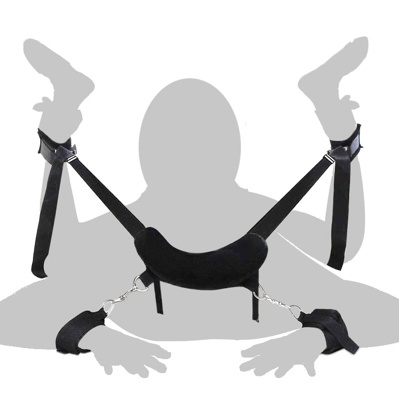 Frog Bdsm Bondage Restraints Frog Posture Belt Handcuffs Ankle Cuff Sex Toy Adult Products Sex Toys For Couples Sex Furniture