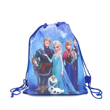 1pcs High Quality Disney Frozen Drawstring Bags Kids Travel Pouch Storage Clothes Shoes Bags Party S