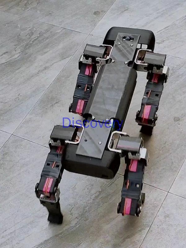 Четвероногий робот с открытым исходным кодом, Механическая Собака, 12 DOF, Raspberry Pi, Python