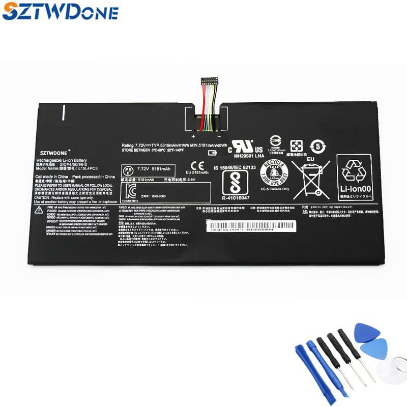 SZTWDONE New L15L4PC3 Laptop Tablet Battery For Lenovo MIIX 720 720-12IKB MIIX 5 Pro L15M4PC3 7.72V 41WH 5319MAH