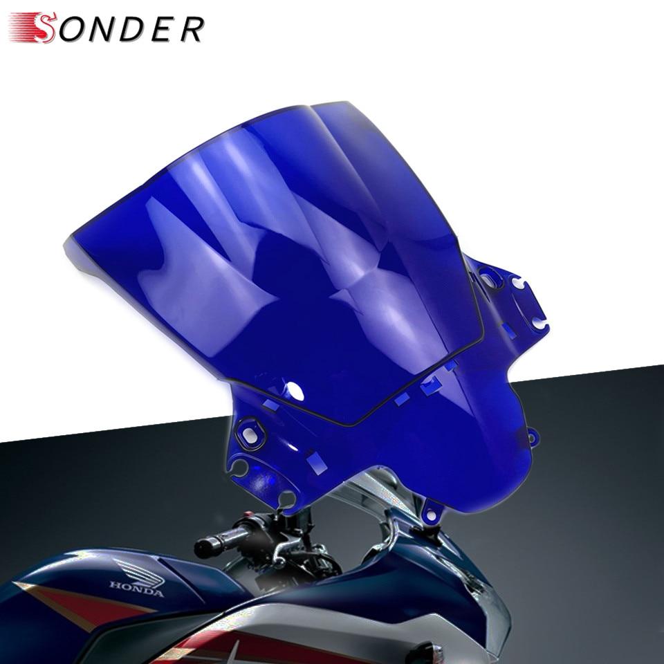For Honda CBR250R 250R 2010 2011 2012 2013 MC41 CBR250 CBR 250 R Double bubble Injection Motorcycle PC windshield windscreen