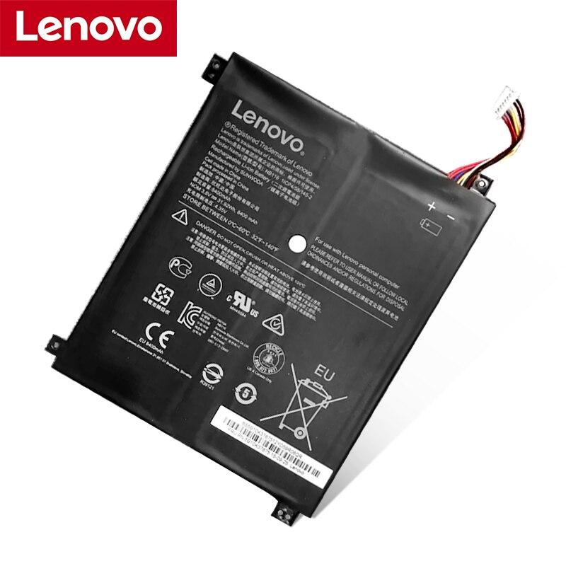 Lenovo NEW Original NB116 Laptop Battery For Lenovo IdeaPAd 100S 100S-11IBY 100S-80R2 NB116 5B10K37675 0813001 3.8V 31.92Wh