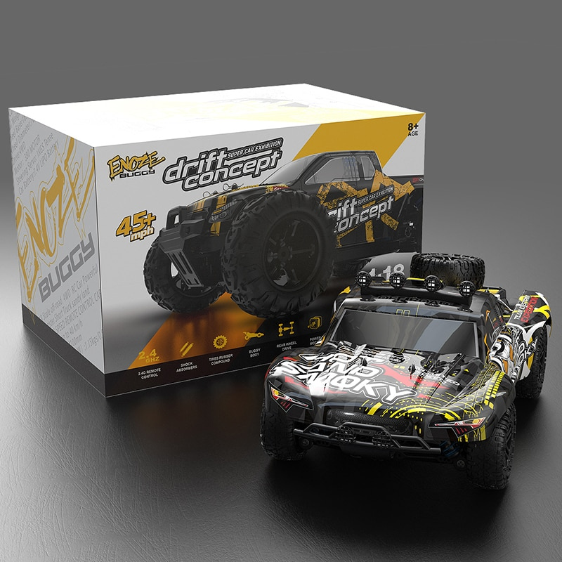 RC Car 50KM Truck High Speed Fast 4WD Radio Remote Control  Drift Off-Road High Speed Rechargable Cars Toys Boys Children Gift enlarge