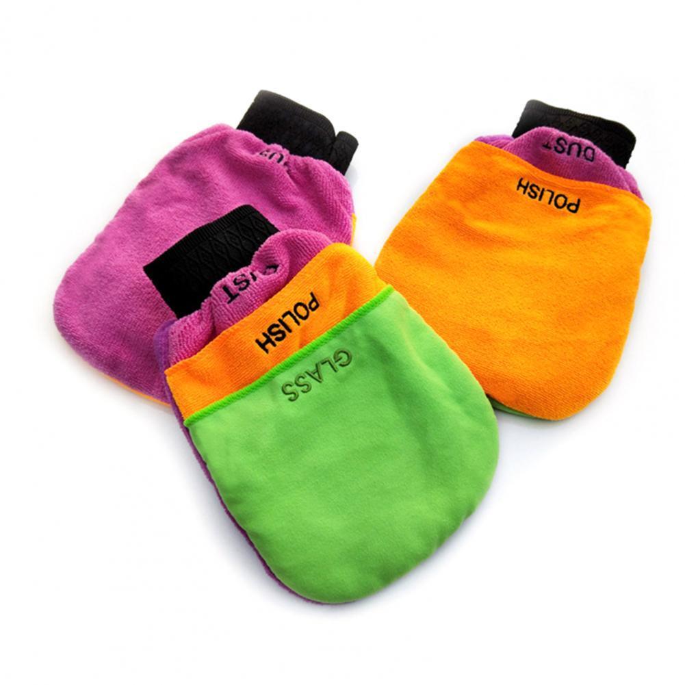 Автомобильные перчатки 3 в 1 многофункциональные перчатки из микрофибры для чистки автомобиля