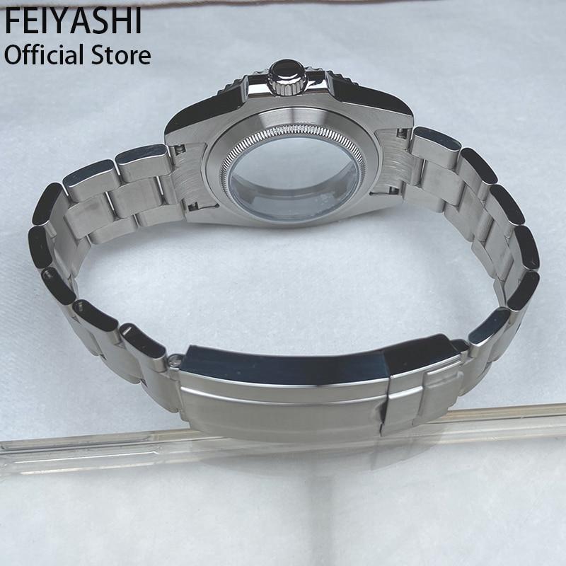nh35 nh36 miyota 8215 dial movement Men's watches case Watchband Bracelet strap Accessories ceramic bezel submariner daytona enlarge