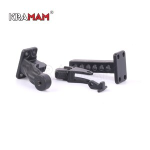 Metal Adjustable Trailer Hitch Mount for 1/10 RC Crawler Traxxas TRX4 Axial SCX10 90046 Redcat GEN 8 Scout II CC01 TF2