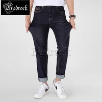 mbbcar 11oz raw denim stretch jeans men one washed denim solid dark blue selevdge jeans summer slim fit thin pencil pants 7303