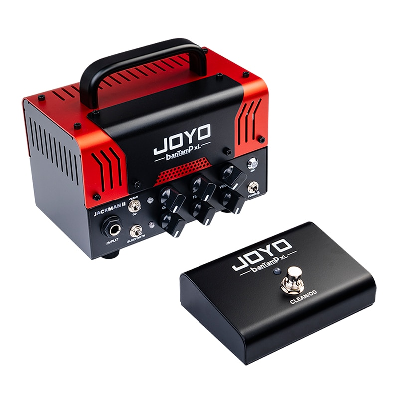 JOYO Electric Guitar Amplifier Head Tube Bantamp XL AMP Preamp Foot Switch Heavy Distortion Stereo Sound Guitar Accessories enlarge