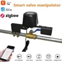 Zigbee3 0     vanne deau air intelligente pour maison Tuya  dispositif de controle dautomatisation  Compatible avec Alexa Google Home  telecommande sans fil