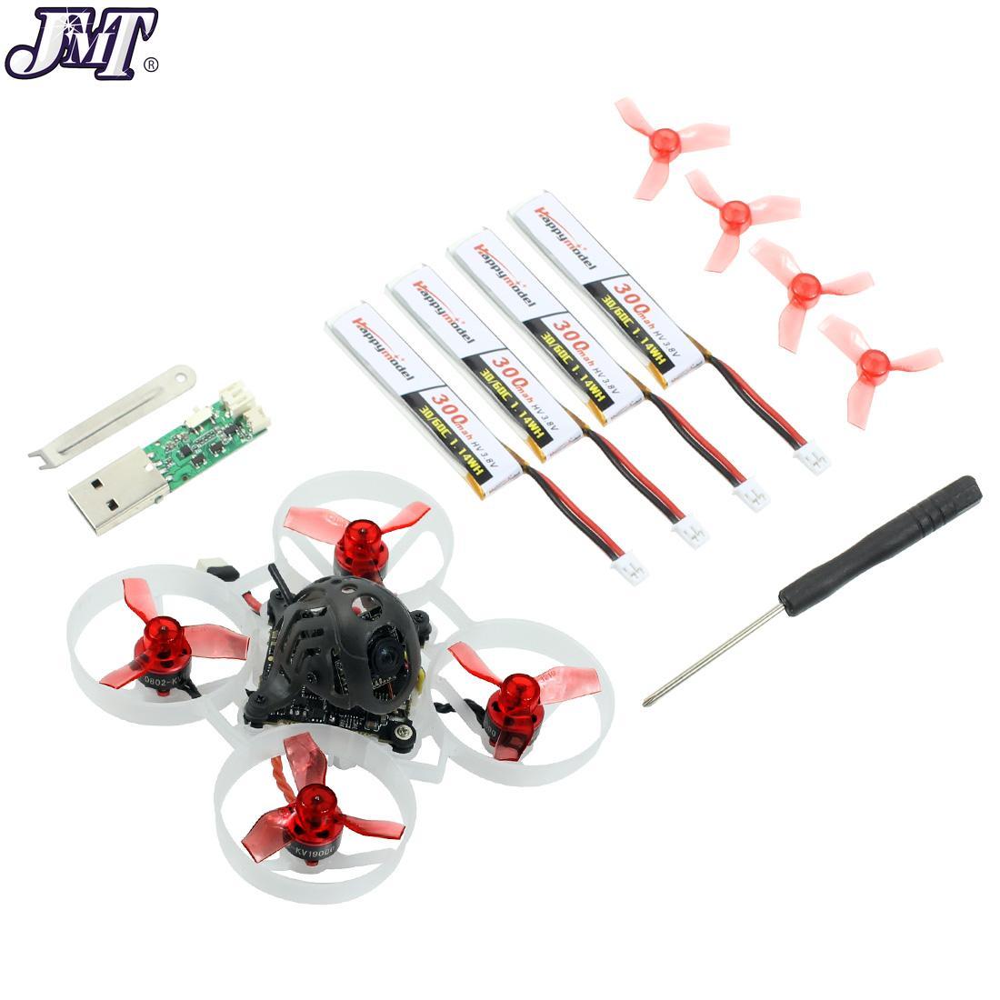 JMT Mobula6 HD Mobula 6 1S 65 مللي متر فرش Bwhoop FPV سباق Drone مع 4in1 Crazybee F4 لايت Runcam Nano3 بلاي Happymodel