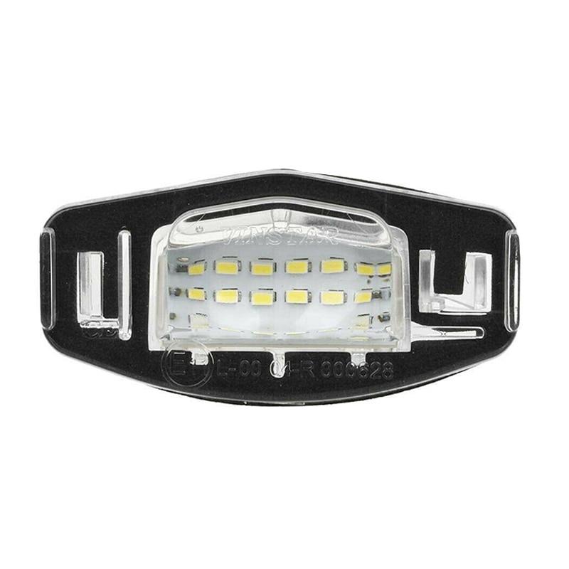 2 uds. Luces de matrícula de coche, lámparas LED traseras de repuesto para Acura TL TSX MDX Civic Signal