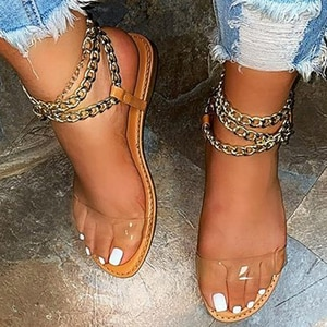 Summer Women Sandals  Beach Shoes Flat Sandals Open Toe slippers Slip-on Casual Slide Slippers Y2K Sandalias De Las Mujeres