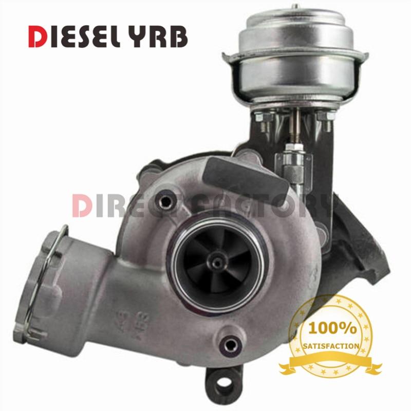 Turbocompresor GT1749V 717858 turbo turbina para Audi A4 A6 / Skoda Superb / VW Passat 1.9TDI 2.0TDI 96Kw 100Kw 103Kw AWX AVF BPW