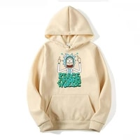 2021 autumn and winter hot print rick and moti sweatshirt mens anime hoodie funny hooded long sleeve casual top rick morti
