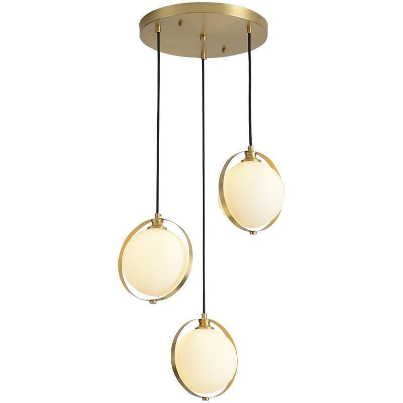 Luminaria de suspensión lámpara colgante Simple moderna de cocina lámpara colgante de estudio dormitorio lámpara de cristal lámpara colgante accesorios de iluminación