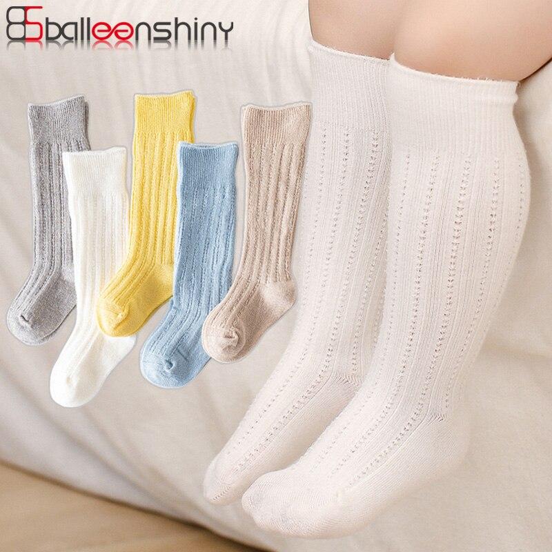 Balleenshiny-Calcetines de algodón para bebé recién Nacido, novedad, verano, 2021
