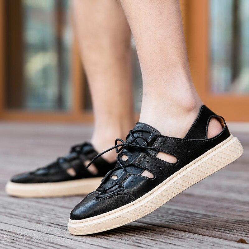 Casuales para Hombre Casual Masculino Sapato Homem Zapatos Sapatos Masculinos Tênis Moda Luz Respirável Verão Primavera Preto
