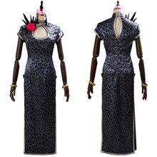 Final Cosplay Fantasy FF Tifa Lockhart Costume Female Girl Cheongsam Outfits Halloween Carnival Fancy Dress