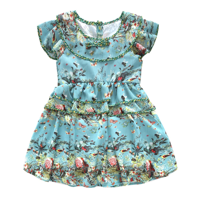 فساتين صيفية للفتيات فساتين الأميرات الكبيرة للفتيات رداء Fille ملابس بناتي بأكمام قصيرة رداء Enfant Fille فستان حفلات أعياد الميلاد للفتيات