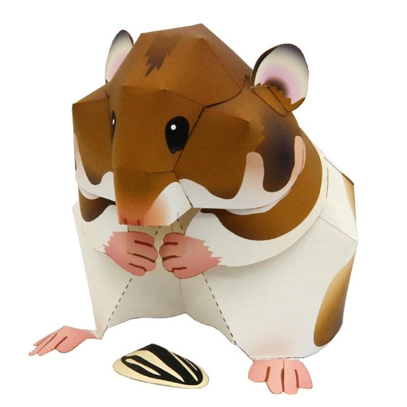 Figuras de acción de ratón y hámster Siri para niños y adultos,...