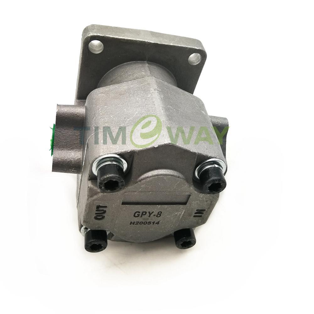 GPY عالية الضغط الهيدروليكية والعتاد مضخة GPY-3 GPY-5.8 GPY-7 GPY-8 20.6Mpa دوران: CCW
