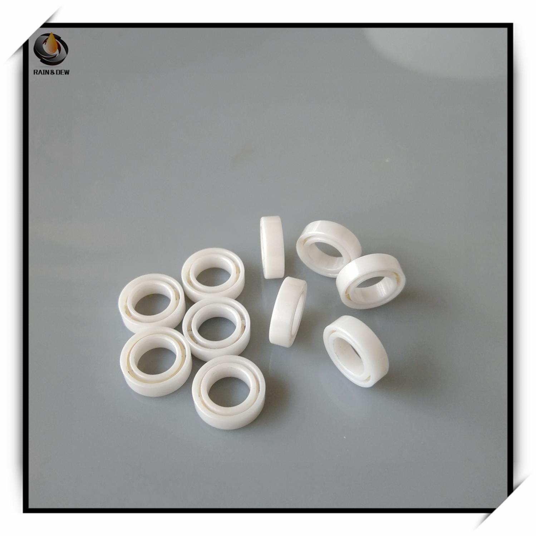1 Uds. Rodamiento de cerámica MR106 6X10X3mm de alto rendimiento con resistencia a la corrosión