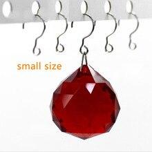 S forme cristal perle rideau côté Rail tige en acier inoxydable crochet lustre boule accessoires bricolage perle pièces suspendus Suncatcher