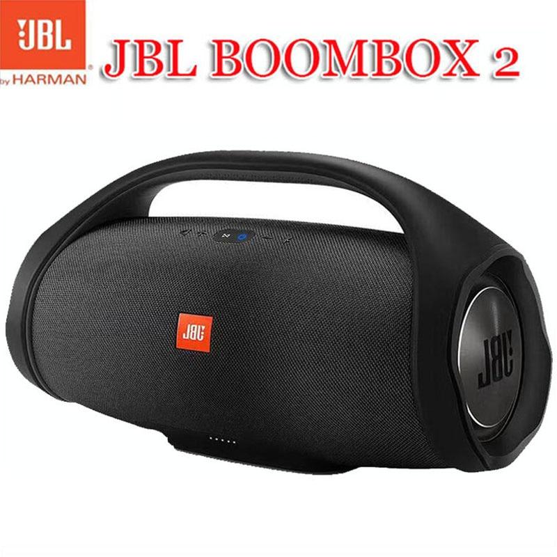 JBL Boombox 2 قابل للنقل لاسلكيّ jbl سمّاعات بلوتوث boombox مقاوم للماء مكبر صوت ديناميكيّ موسيقى مضخم صوت ستيريو خارجي