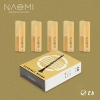naomi 10pcs1pack clarinet reeds eb clarinet 3 strength reeds nc 03 replacement with carton case