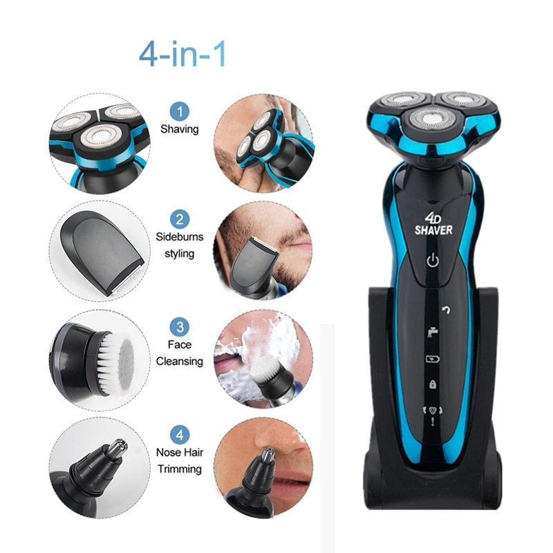 Electric razor for men Electric razor Machine for shaving Trimmer for men shaving machine beard trimmer USB charging Clipper enlarge