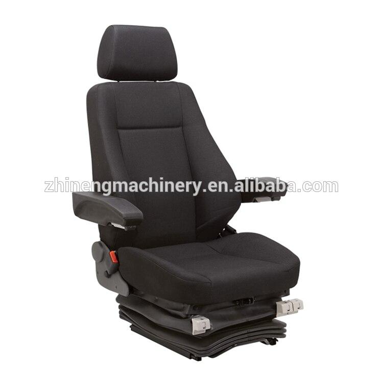 Strong Steel Frame Skid Steer Loader Mechanical Suspension Seat