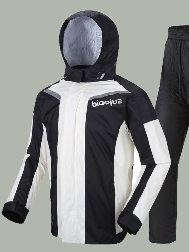 Motorcycle Foldable Raincoat Large Fishing Sport Men Raincoat Women Waterproof Suit Antipioggia Moto Reusable Raincoat AG50YY enlarge
