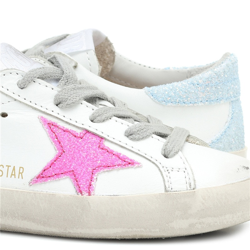 Spring and Summer New First Layer Cowhide Children's Korean Version of The Old Little Dirty Girl Fashion Casual Shoes CS166 enlarge