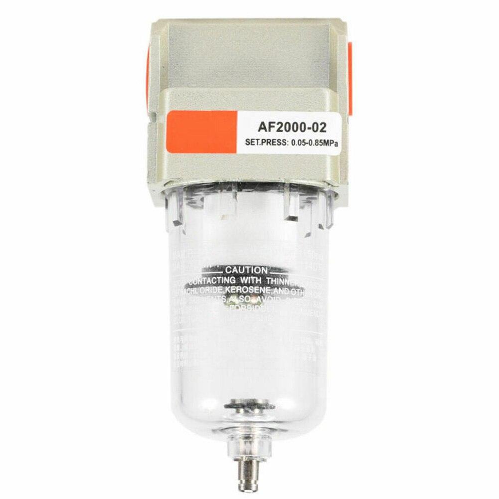 Partículas de separador de agua de aceite de fácil aplicar partes de drenaje casa neumático humedad trampa limpiador accesorios filtro de aire del compresor