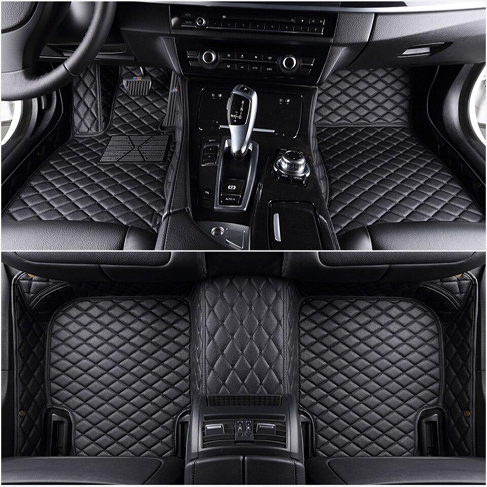for Audi A5 coupe 2013 car floor mat +car trunk mat