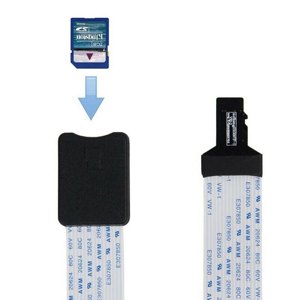 Mini 48CM TF à Micro carte SD câble dextension câble dextension adaptateur lecteur pour voiture GPS Mobile