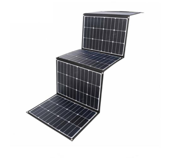 40 واط 60 واط 80 واط 100 واط 200 واط ETFE ألواح الطاقة الشمسية المحمولة في الهواء الطلق التخييم أحادية السيليكون طوي