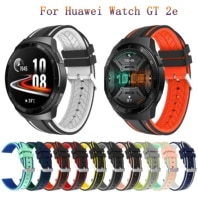 for huawei watch gt 2e strap band fashion silicone watchbands for watch gt 2 gt2 46mm smart bracelet sport wristband replacement