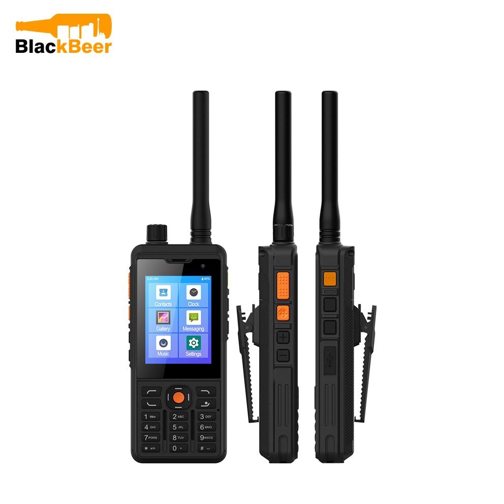 UNIWA P5 Zello Walkie Talkie CellPhone Android 9.0 Mobilephone 4G LTE 1GB+8GB MT6739 Smartphones UHF 400-480mhz 5300mAh NFC POC