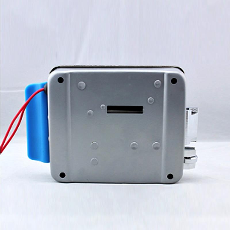AnjielaSmart Stainless Steel Electronic Control Lock Electric Gate Door Lock support Video Doorphone Intercom System enlarge
