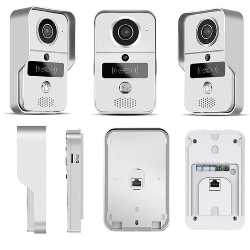 Smart Doorbell Wifi Video Intercom HD Camera Android/IOS Phone Motion Sensor Alarm Night Vision Home Office Wireless Gate opener enlarge