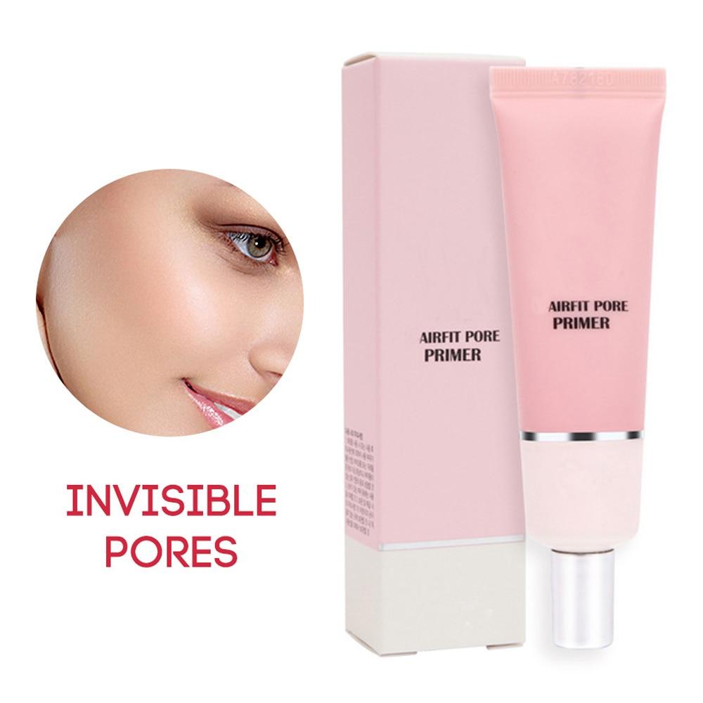 Maquillaje de Base de maquillaje Primer Control de aceite suave aislado Facial Base crema hidratante Invisible poros cara brillo maquillaje