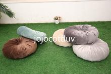 40x40 سنتيمتر النمط الياباني الطابق مخدة كرسي التأمل الجولة اليوغا وسادة/اليقطين وسادة أريكة وسادة مستديرة المخملية النسيج