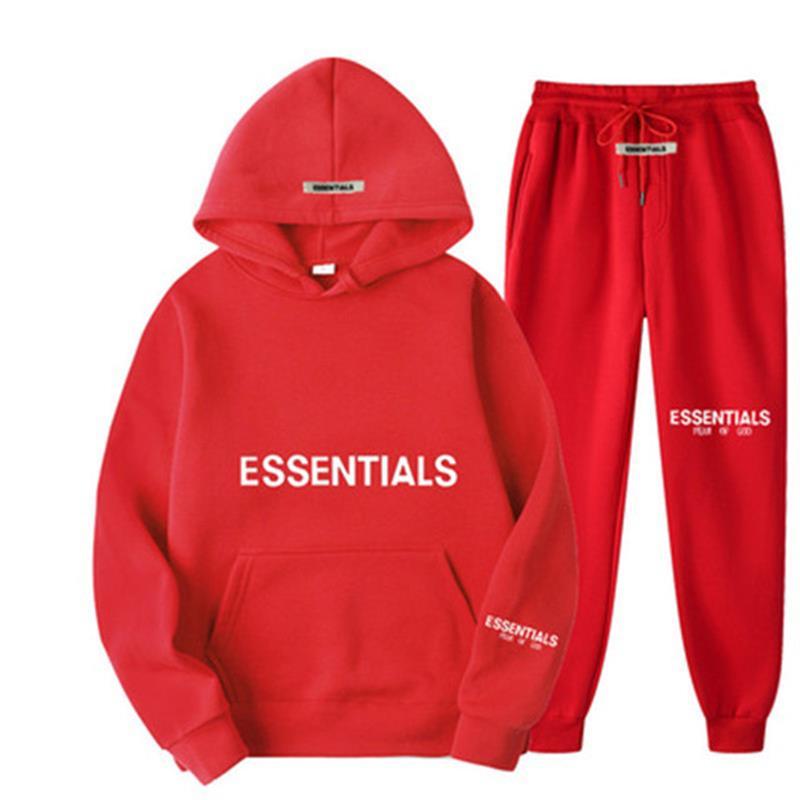 Новинка 2021, мужской осенне-зимний костюм с капюшоном, свитер для фитнеса для бега + спортивные брюки, мужской костюм, спортивный костюм для б...