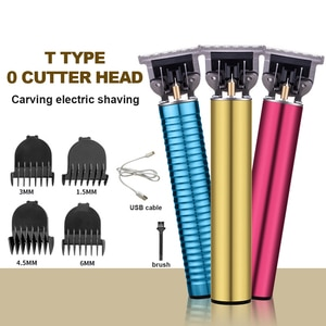 Men's Hair Clipper Carved Styling Hair clipper Razor Straight Into the Oil Head Scissors Men's Styling Tool Silent Hair Clipper