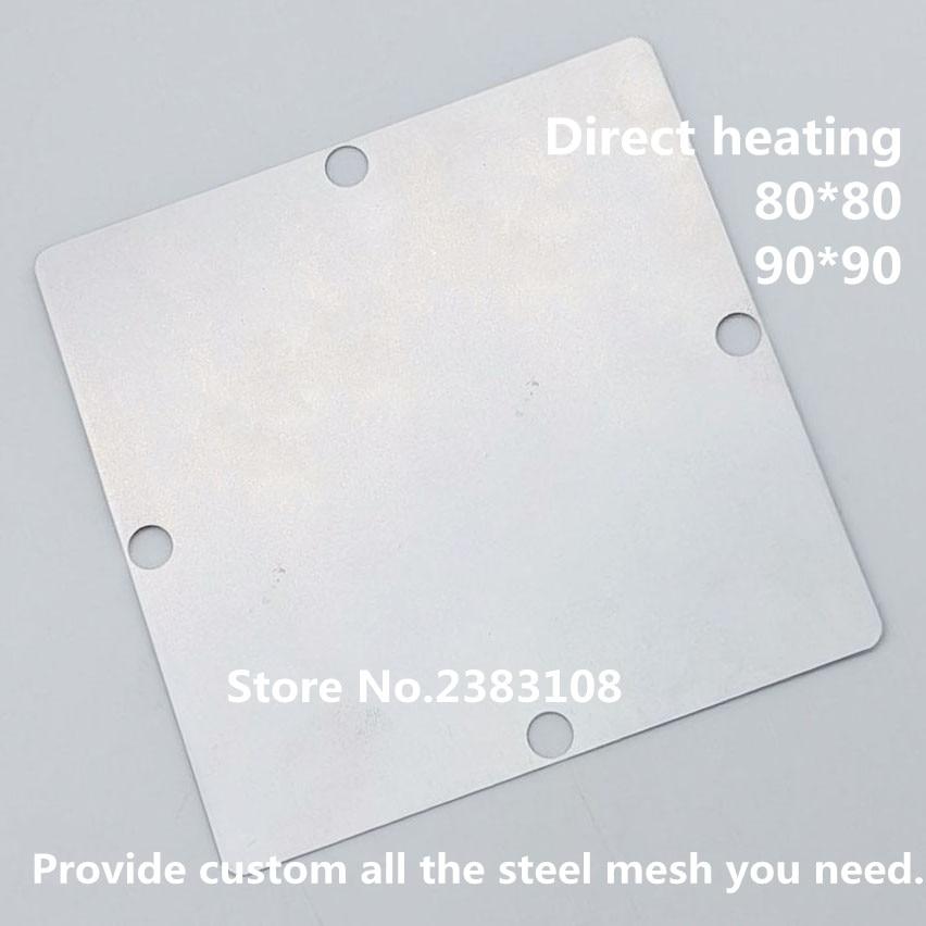 Calefacción directa 80*80 90*90 MT5580MP01 MT5580MPOI-BCSH plantilla BGA