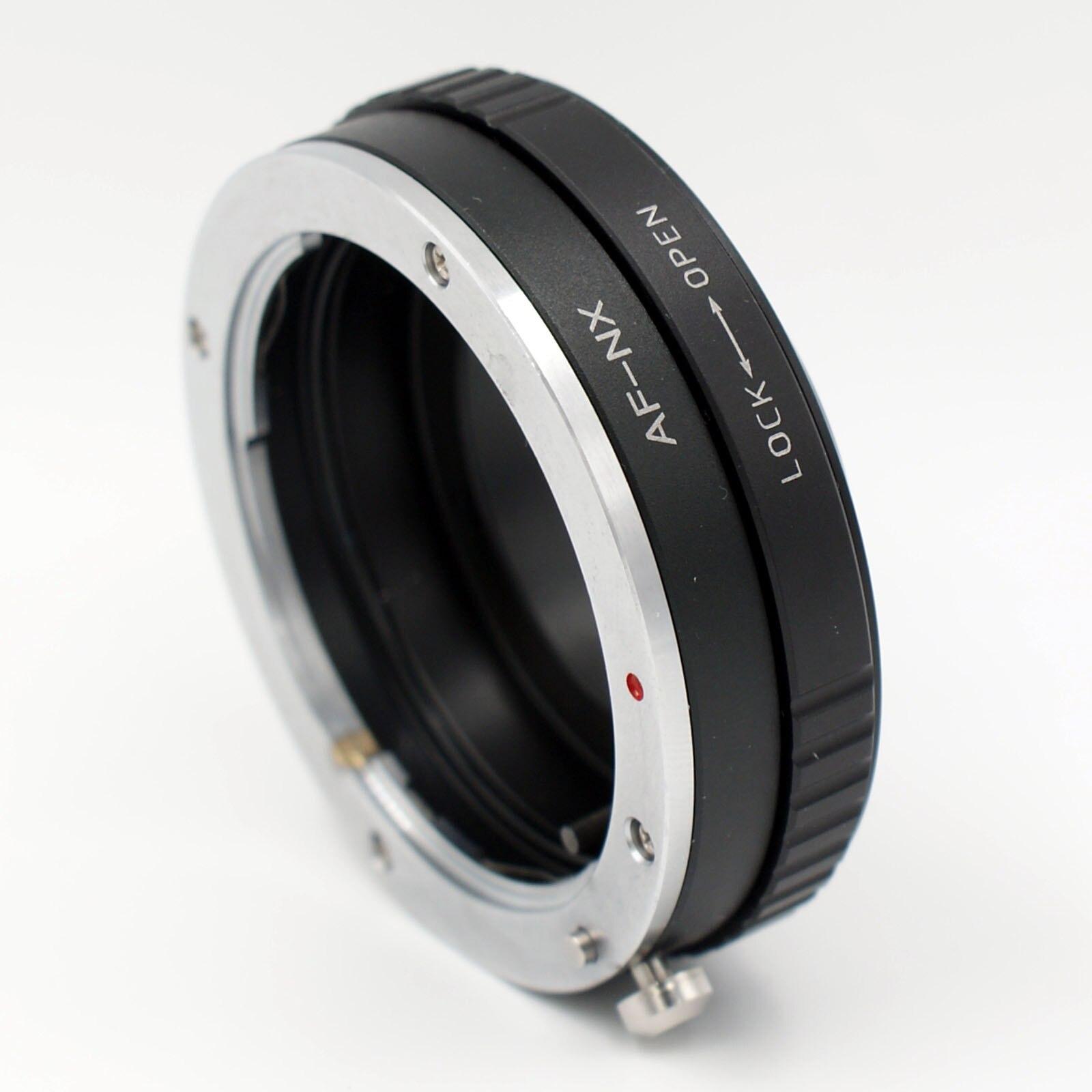 Anillo adaptador para sony A Alpha Minolta AF MA lente de montaje A samsung NX NX5 NX10 NX11 NX100 NX200 Cámara
