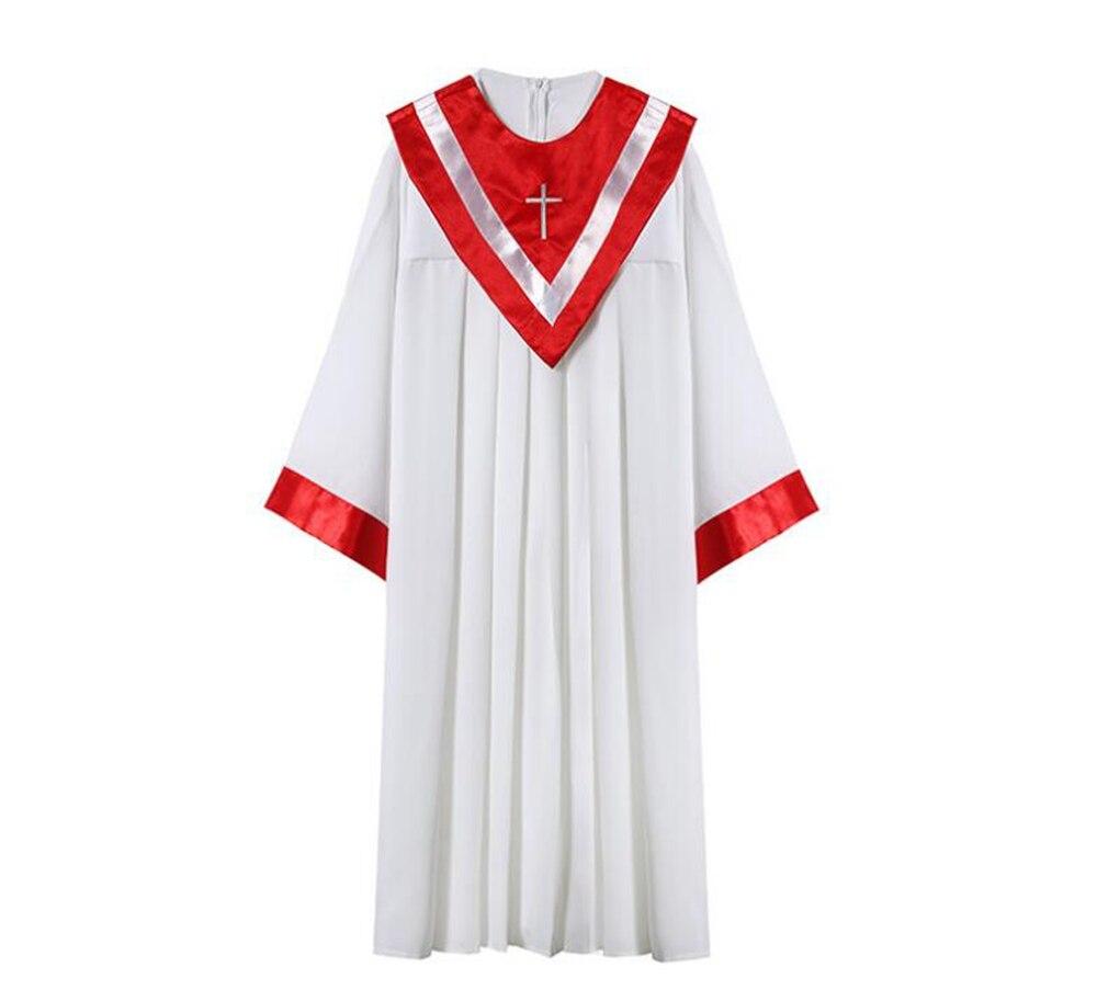 جوير-فستان من البوليستر والمعمودية للرجال والنساء ، بنمط الباس ، للكبار ، للجنسين